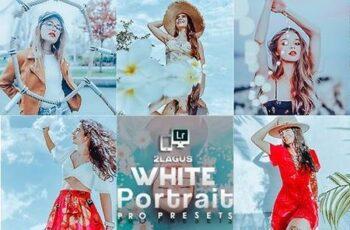 White Portrait Presets (Mobile & Desktop) Lightroom 27395564 13