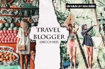 Travel Blogger Lightroom Presets - Mobile & Desktop 5455331 7