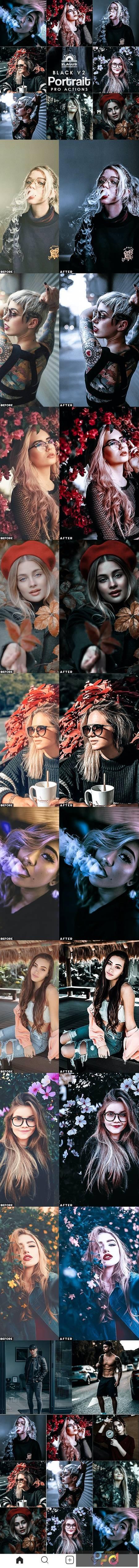 Black Portrait V2 Photoshop Actions 27735528 1