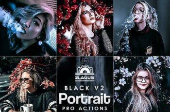 Black Portrait V2 Photoshop Actions 27735528 12