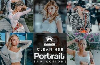 Clean Portrait Photoshop Actions 27749169 4