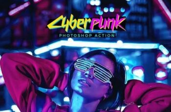 CyberPunk Photoshop Action 27580056 4