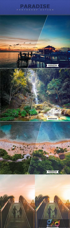 Paradise Photoshop Action 27717748 1