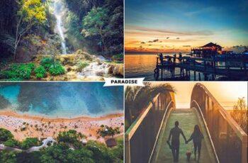 Paradise Photoshop Action 27717748 6