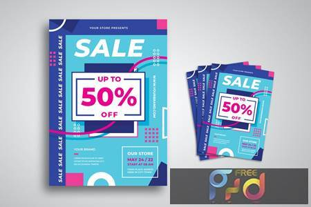 Discount Sale Flyer JNB573B 1