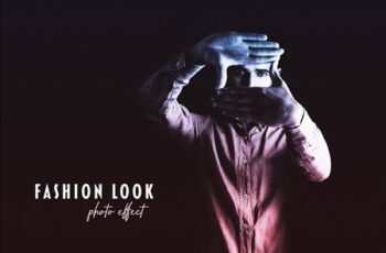 Fashion Look Photo Effect 5402231 5