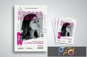 Party Club Flyer QJC8NE5 7