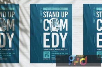 Stand Up Comedy Poster E5M28UV 7
