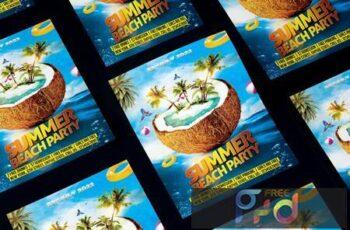Summer Beach Party Flyer WP24G3H 5