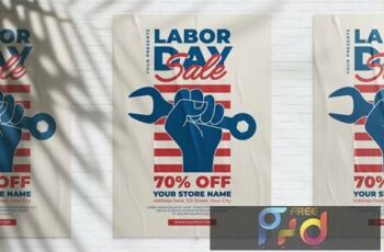 US Labor Day Sale Flyer XY2DZ85 6