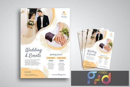 Wedding Flyer 4RF8F23 1