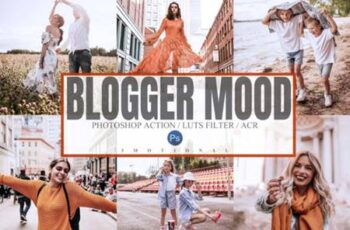 Blogger Mood Photoshop Actions ACR LUTs 5518719 3