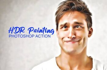 HDR Painting Photoshop Actions 4909711 3