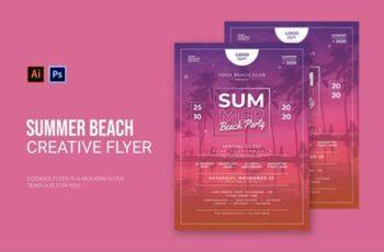 Summer Beach - Flyer EBGWPRP 3