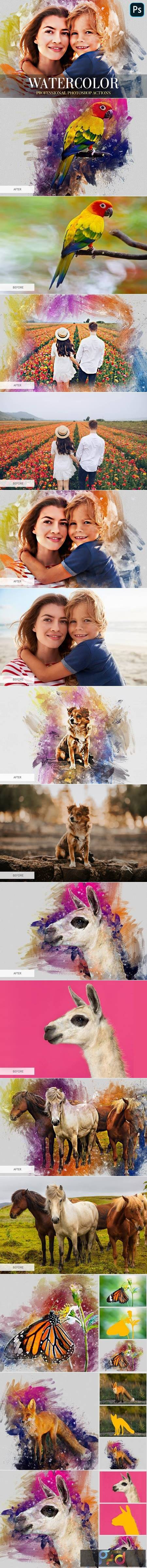 Watercolor Photoshop Action 4870553 1
