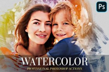 Watercolor Photoshop Action 4870553 7