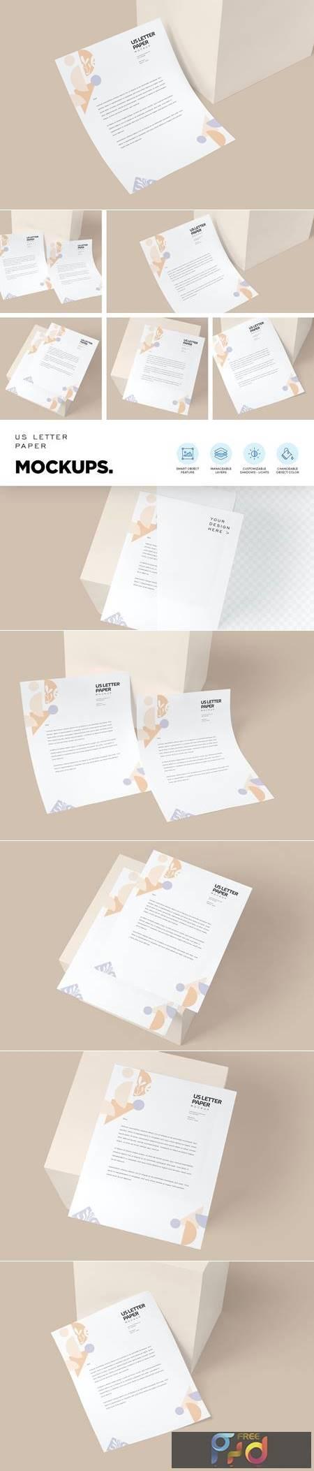 US Letter Paper Mockups SVE27BA 1