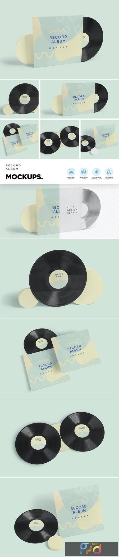 Vinyl Record Album Mockups Y7WQ692 1