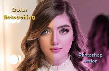 Color Retouching Photoshop Action 4737133 5