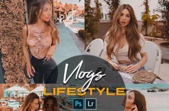 Vlogs Lifestyle Photoshop Actions + LR Presets 28114541 6