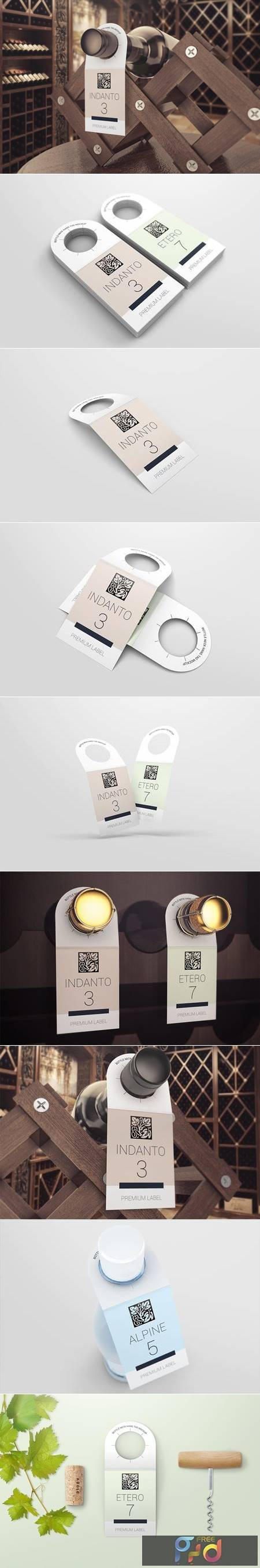Bottle Neck Hang Tag Mockup VSXH5V 1
