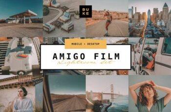Amigo Film - 4 Lightroom Preset Pack 4868905 7