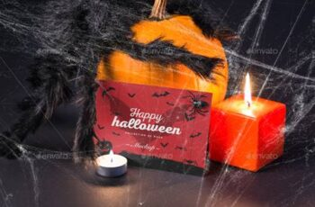 Halloween Card Mock-up 22727163 2