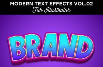 Cartoon Text Effect for Illustrator 28406677 2