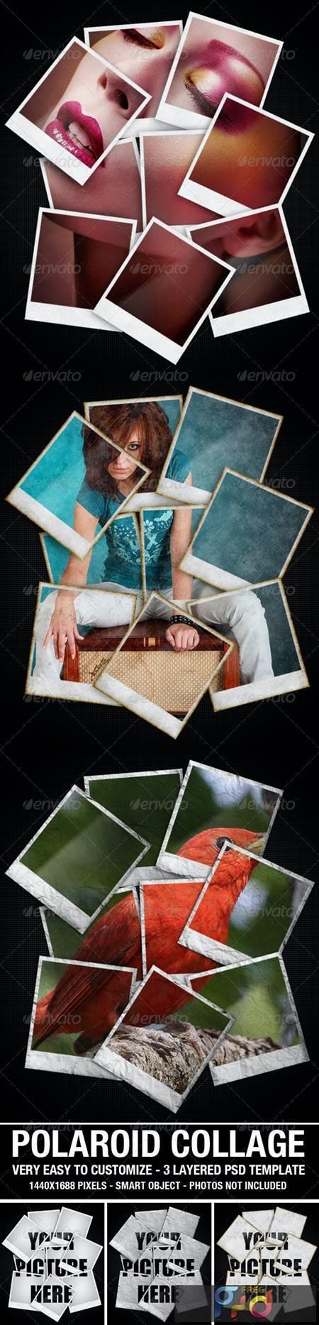 Polaroid Collage Photo Template 2627722 1
