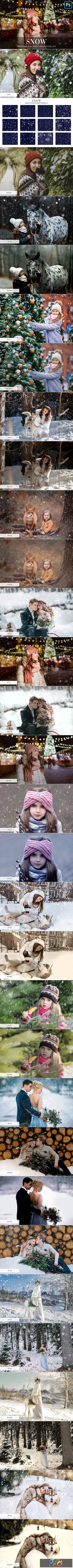 Snow Photo Overlays 4942645 1