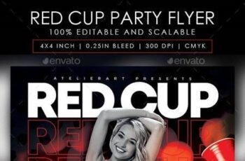 Red Cup Party Flyer 28430298 3