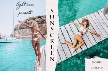 SunScreen Mobile & Desktop Lightroom Presets 5455218 6