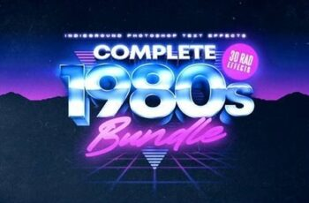 80s Text Effects Complete Bundle 28703930 1