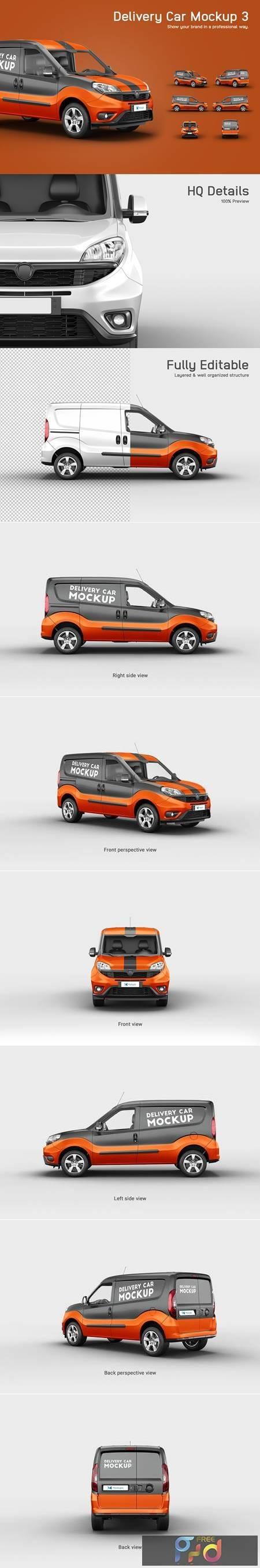 Delivery Car Mockup 3 4876078 1