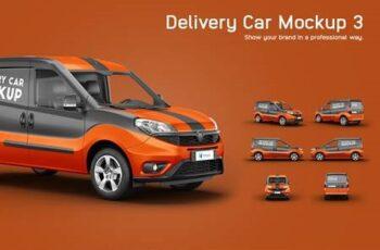 Delivery Car Mockup 3 4876078 6