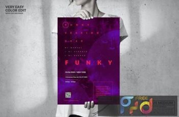 Music Event - Big Poster Design UF54L8P 9