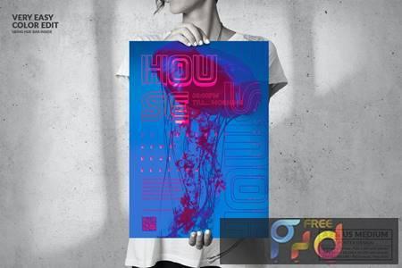 Music Event - Big Poster Design KV8BRHX 1