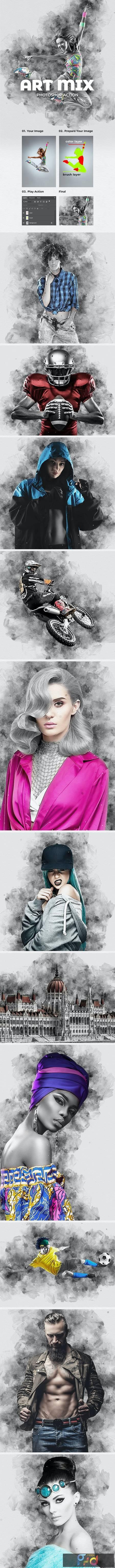 Art Mix Photoshop Action 28178955 1