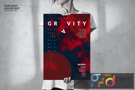 Music Event - Big Poster Design 49VMDS5 1