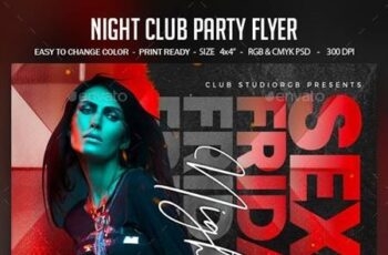 Night Club Party Flyer 28450646 4