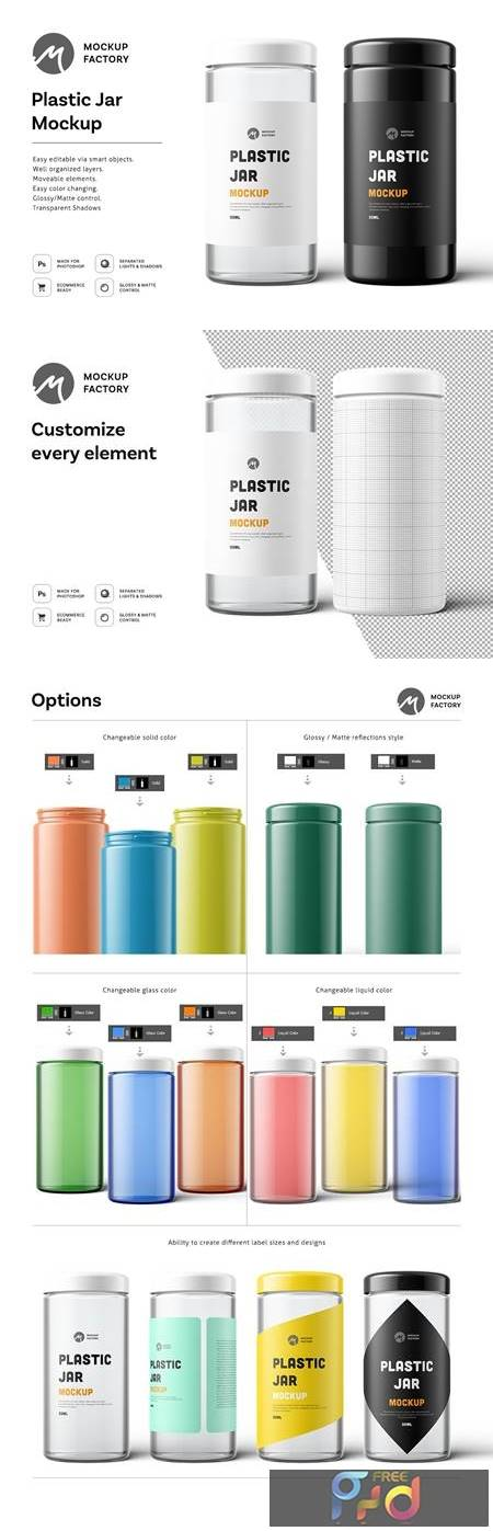 Plastic Jar Mockup 4877775 1