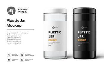 Plastic Jar Mockup 4877775 3