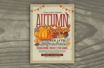 Autumn Festival Flyer X8XE4H3 7
