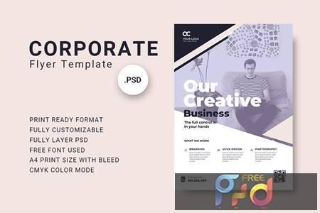 Business Flyer Template - 02 B8PEQEM 1