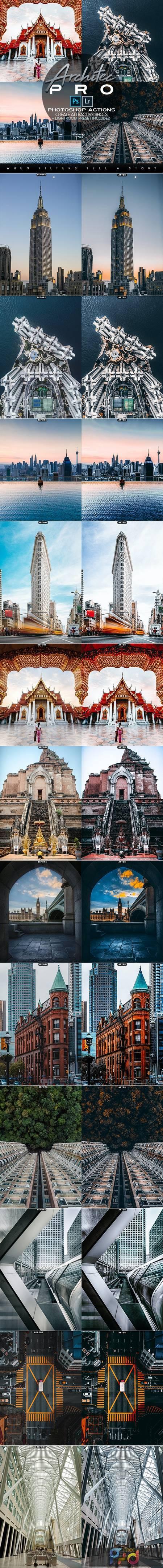 Architec PRO Photoshop Actions + LR Presets 28144644 1