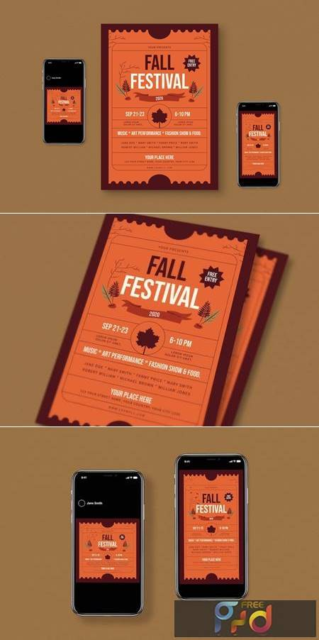 Fall Flyer Set N799MS9 1