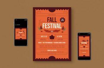 Fall Flyer Set N799MS9 3