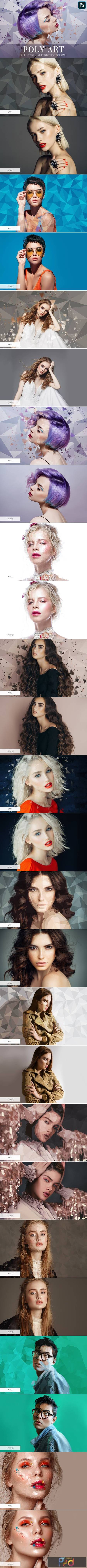 Photoshop Actions - Poly Art 4841248 1