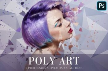 Photoshop Actions - Poly Art 4841248 6