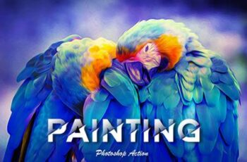 Painting Photoshop Action 5589968 4